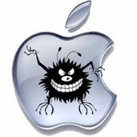 pulizia virus apple