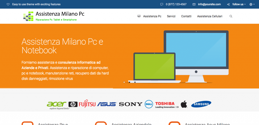 assistenza milano pc