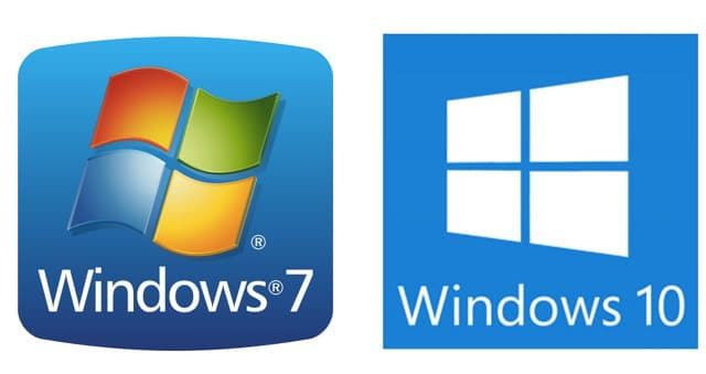 Differenze tra windows 7 e windows 10